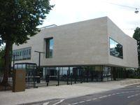 Neues Empfangsgebäude mit Eingangsschleuse, Karlsruhe