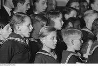 Thomaner-Chorknaben im Jahr 1953