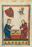 Brettspiel früher (Symbolbild)
