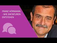 """Bild: Screenshot Video: """"Prof. Dr. Franz Hörmann - Wie Diktaturen entstehen"""" (https://youtu.be/Qe05DdZ0iVM) / Eigenes Werk"""
