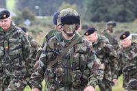 Euroarmee: Die Nordic Battlegroup bei einer Übung im Jahr 2010