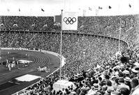 XI. Olympische Spiele im Olympiastadion Berlin