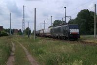 Kesselwagenzug zur PCK-Ölraffinerie nach Schwedt-Oder