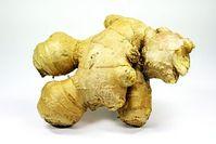 Ingwer hilft auch in gekochtem Zustand gegen Muskelschmerz. Bild: pixelio.de/wrw