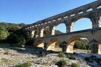Das Aquädukt von Nîmes ist das größte bis heute erhaltene römische Bauwerk in Europa.  Bild: ZDF Fotograf: ZDF/Benoît Faure