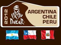 Logo der Rallye Dakar 2012