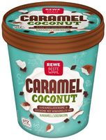 "Rewe Beste Wahl Caramel Coconut 500ml / Bild: ""obs/Eisbär Eis GmbH"""