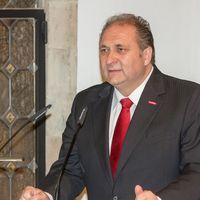 Präsident Hans Peter Wollseifer vom Zentralverbandes des Deutschen Handwerks (ZDH)