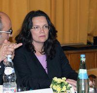 Andrea Nahles / Bild: Claus Ableiter, de.wikipedia.org
