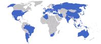Staaten mit Standorten der ZFFriedrichshafenAG