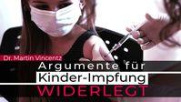 """Bild: Screenshot Video: """" Argumente für Kinder-Impfpflicht widerlegt"""" (www.kla.tv/18968) / Eigenes Werk"""