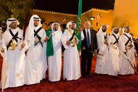 König Salman ibn Abd al-Aziz mit Donald Trump (2017)