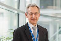"""""""Rund 40% aller Jobs, in denen wir 2030 arbeiten werden, sind heute noch nicht erfunden"""", sagt Hannes Schwaderer, Co-Präsident des Digitalisierungsnetzwerkes A21DIGITAL und Country Manager der Intel Deutschland GmbH. Bild:     Martin Lugger"""