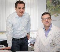 Andreas Unger (links) und Matthias Vorgerd. Bild: Roberto Schirdewahn