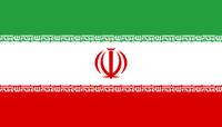 Flagge von Iran