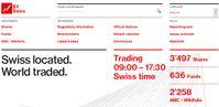 Schweizer Börse BX Swiss