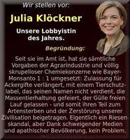 Julia Klöckners Lobbykontakte in der Kritik - wie auch schon ihre Vorgänger...