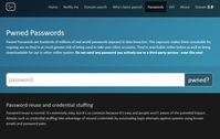 """Bild: Screenshot der Webseite """"haveibeenpwned.com"""""""