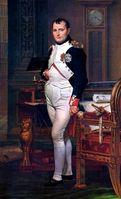 Napoleon in seinem Arbeitszimmer(Gemälde von Jacques-Louis David, 1812)
