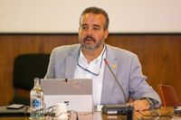 Der Direktor der Universität von Las Palmas, Rafael Robaina Bild: Hispáfrica Fotograf: Hispáfrica