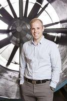 Phillip Ansell: Forscher arbeitet an E-Flugzeug.