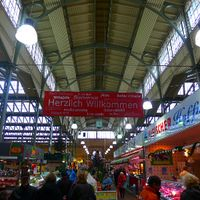Markthalle: Verbraucher bevorzugen öfter regionale Produkte. Bild: Die Zunft AG
