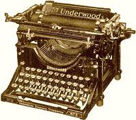 Schreibmaschine (Symbolbild)