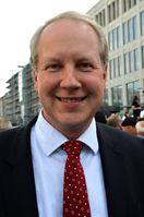 Stefan Schostok im August 2013 unter den Menschen am Kröpcke