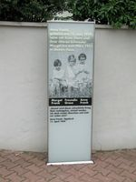 Gedenkstele an Anne Franks Geburtshaus