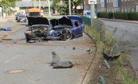 Schwerer Verkehrsunfall auf dem Westring in Herne Bild: Polizei