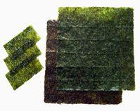 Getrocknete Nori-Algen