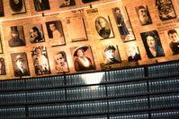 Die Halle der Namen im Holocaust-Museum Yad Vashem.