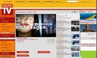 """Screenshot von der Webseite: """"Salve.TV."""""""