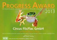 PETA Progress Award. Bild:  © PETA