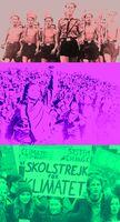 Stehts ohne Fakten aber immer Mißbraucht: Von oben nach unten: Hitlerjugend, Kulturrevolutionsjugend, Klimajugend (Symbolbild)