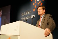 Brady Dougan im Mai 2009 am 39. St. Gallen Symposium