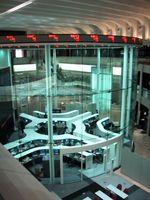 Hauptraum der Tokioter Börse