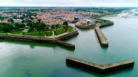 """1685 errichtete der Marquis de Vauban die Festungsanlage von Saint-Martin-de-Ré.  Bild: """"obs/ZDF/Émeric Nicolas"""""""