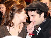 Oliver Wnuk mit Freundin Yvonne Catterfeld bei der Premiere von Keinohrhasen, im Dezember 2007