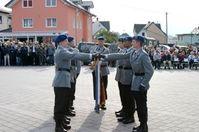 """Öffentliches Gelöbnis Bild: """"obs/Presse- und Informationszentrum Sanitätsdienst/Preuss/Sanitätsregiment 2"""""""