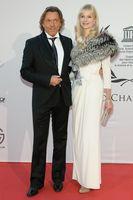 Otto Kern mit Ehefrau Naomi Valeska Kern bei der UNESCO Charity Gala in Düsseldorf (2012)
