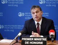 Viktor Orbán Bild: OECD Organisation for Economic Co-operation and Development, on Flickr CC BY-SA 2.0
