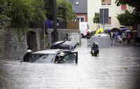 Für Hochwasserschäden ist die Teil- oder die Vollkaskoversicherung zuständig  Bild:HUK-COBURG/Olaf Tiedje