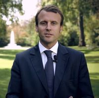 Emmanuel Macron in September 2014