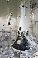 Endmontage des MCPV für den geplanten Testflug im Dezember 2014
