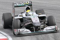 """Erster """"€žechter""""€œ Silberpfeil in der Formel 1 seit 1955: Mercedes MGP W01 (2010)"""