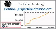 "Bundestags-Petition ""Expertenkommission"" erreicht Quorum!"