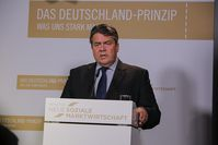 Sigmar Gabriel Bild: INSM, on Flickr CC BY-SA 2.0