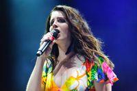 Lana Del Rey beim Coachella-Musikfestival in Indio (2014)