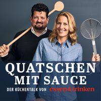 """ESSEN & TRINKEN Podcast """"Quatschen mit Sauce"""". Bild: """"obs/Verlagsgruppe Deutsche-Medienmanufaktur (DMM), ESSEN&TRINKEN/ESSEN & TRINKEN Podcast"""""""